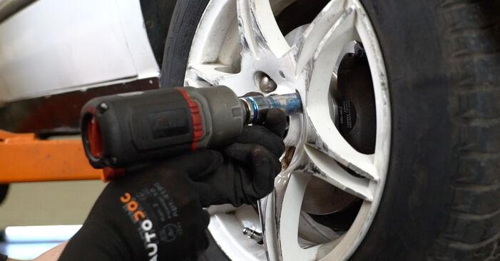 Wie man VW GOLF 1.6 1995 Radlager austauscht - Eingängige Anweisungen online