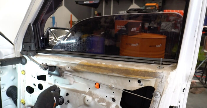How to remove VW GOLF 1.6 1995 Window Regulator - online easy-to-follow instructions