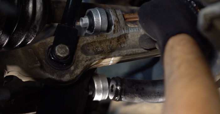 Replacing Anti Roll Bar Links on Audi A4 B6 Avant 2000 1.9 TDI by yourself