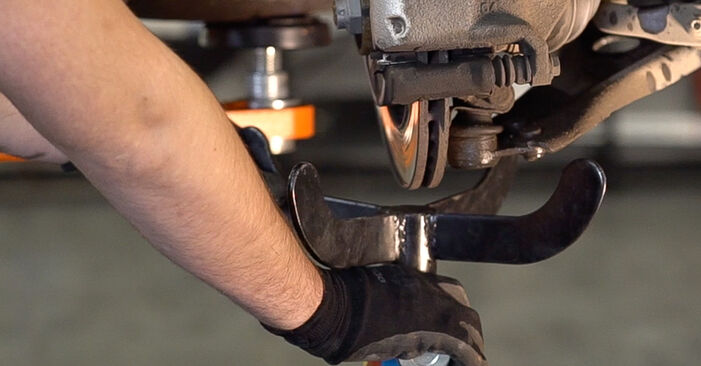 Replacing Shock Absorber on Peugeot 208 1 2012 1.4 HDi by yourself