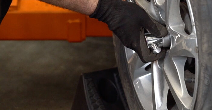 Changing of Shock Absorber on Peugeot 208 1 2020 won't be an issue if you follow this illustrated step-by-step guide