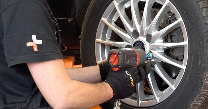 Stoßdämpfer beim ALFA ROMEO 159 2.2 JTS 2012 selber erneuern - DIY-Manual