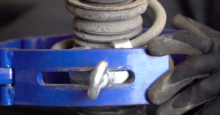 Stoßdämpfer Ihres Golf 4 1.6 16V 2005 selbst Wechsel - Gratis Tutorial
