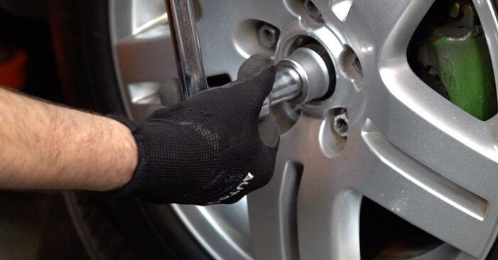 Wechseln Stoßdämpfer am VW Golf IV Schrägheck (1J1) 1.9 TDI 2000 selber