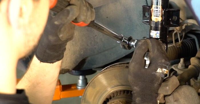Wie Stoßdämpfer Volvo V70 SW 2.4 1999 tauschen - Kostenlose PDF- und Videoanleitungen