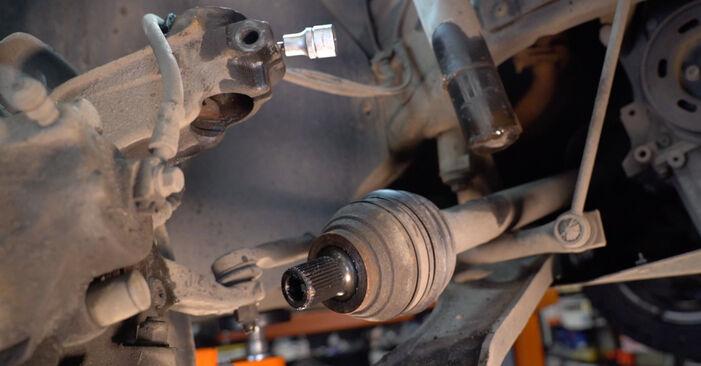 Golf V Hatchback (1K1) 2.0 TDI 16V 2007 Shock Absorber DIY replacement workshop manual