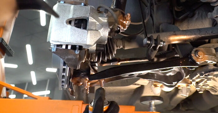 How to replace VW Golf V Hatchback (1K1) 1.9 TDI 2004 Shock Absorber - step-by-step manuals and video guides