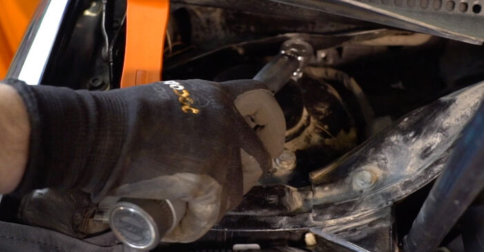 How hard is it to do yourself: Shock Absorber replacement on Golf 5 2.0 TDI 2009 - download illustrated guide