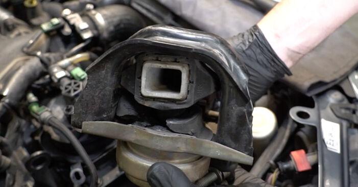 PEUGEOT 307 1.4 16V Motorophæng udskiftning: online vejledninger og video læringslektioner