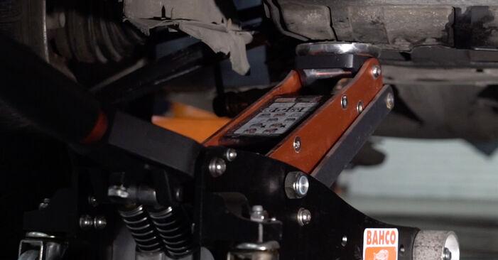 Hvordan man udskifter Motorophæng på PEUGEOT 307 SW (3H) 2005: hent PDF manualer og video instruktioner