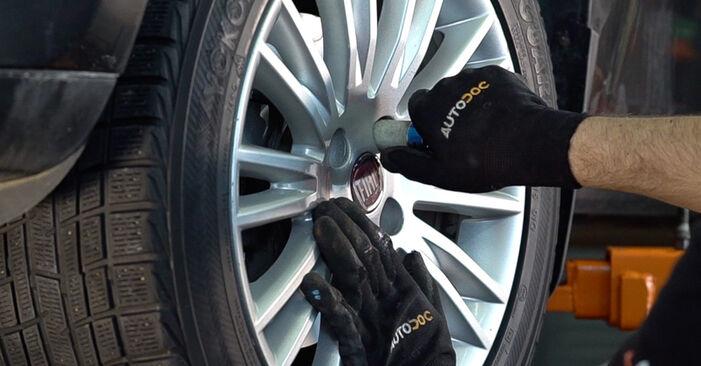 Svépomocná výměna Tlumic perovani na autě FIAT BRAVO II (198) 2016 1.9 D Multijet
