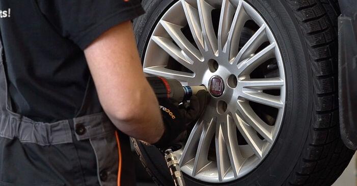 Jak dlouho trvá výměna: Tlumic perovani na autě FIAT BRAVO II (198) 2014 - informační PDF návod