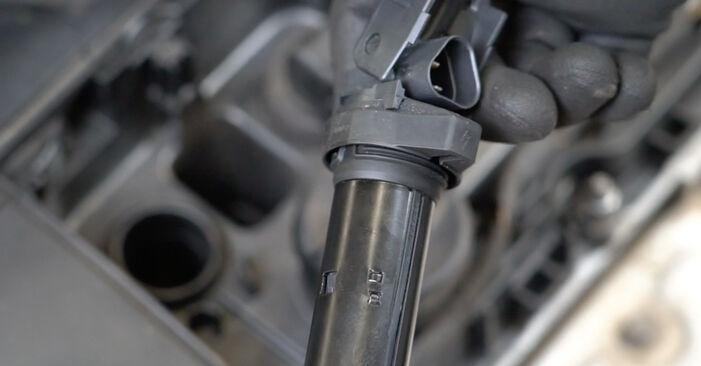 PEUGEOT 207 2013 Tændspole trin-for-trin udskiftnings manual