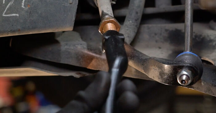 207 (WA_, WC_) 1.6 16V VTi 2007 Track Rod End DIY replacement workshop manual