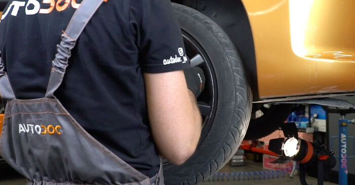 How to replace Track Rod End on PEUGEOT 207 (WA_, WC_) 2011: download PDF manuals and video instructions