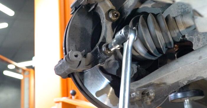 207 (WA_, WC_) 1.6 16V VTi 2007 Bremsscheiben - Tutorial zum selbstständigen Teilewechsel