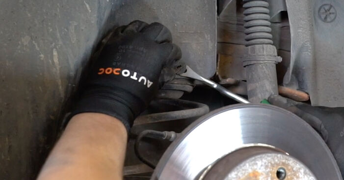 How to remove PEUGEOT 207 1.6 16V VTi 2010 Shock Absorber - online easy-to-follow instructions