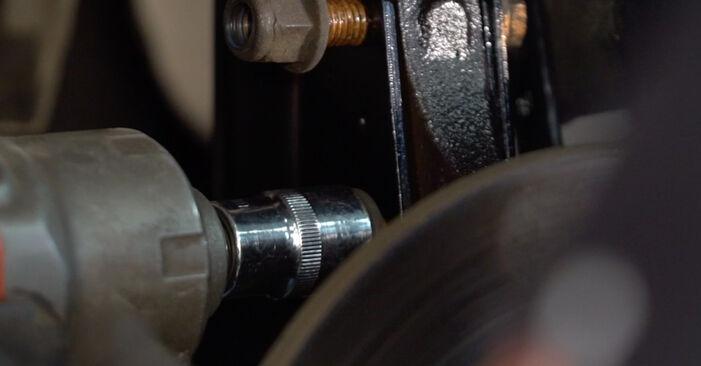 Stoßdämpfer Ihres Twingo c06 1.2 2001 selbst Wechsel - Gratis Tutorial