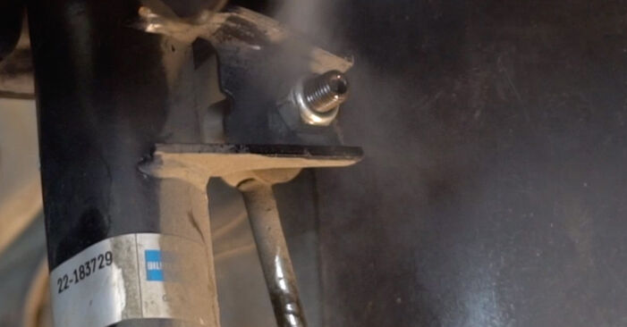 Priporočila korakov za DIY zamenjavo Touran 1t1 1t2 2008 1.6 FSI Blazilnik