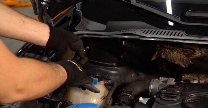 Zamenjajte Blazilnik na VW TOURAN (1T1, 1T2) 1.4 TSI 2006 sami