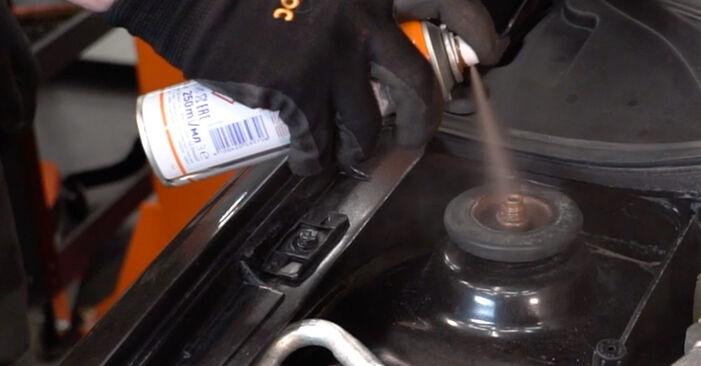 Stoßdämpfer Renault Clio 2 1.5 dCi 2000 wechseln: Kostenlose Reparaturhandbücher
