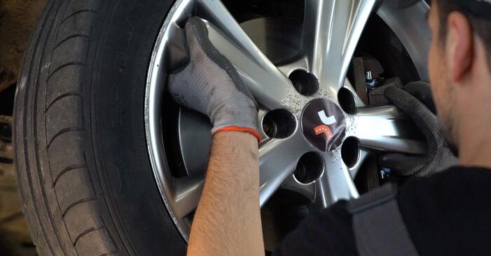Austauschen Anleitung Stoßdämpfer am Lexus RX XU30 2007 3.3 400h AWD selbst