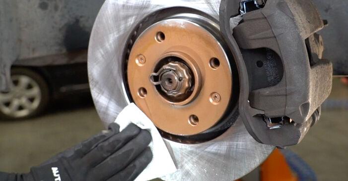 PEUGEOT 207 (WA_, WC_) 1.6 HDi 2008 Pastiglie Freno sostituzione: manuali dell'autofficina