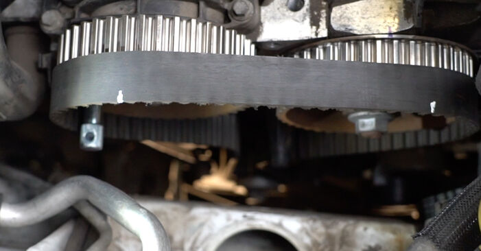 Austauschen Anleitung Wasserpumpe + Zahnriemensatz am Renault Clio 3 2015 1.5 dCi selbst