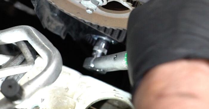 Austauschen Anleitung Wasserpumpe + Zahnriemensatz am Renault Clio 3 2005 1.5 dCi selbst