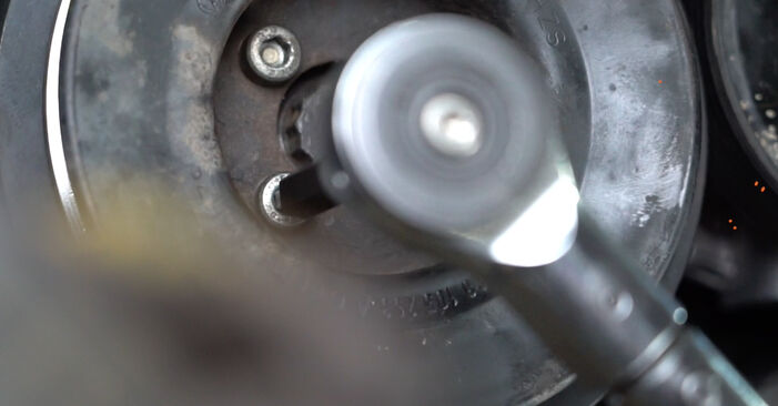 Changing of Water Pump + Timing Belt Kit on Golf 3 1991 won't be an issue if you follow this illustrated step-by-step guide