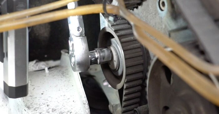 How to remove VW GOLF 1.6 1995 Water Pump + Timing Belt Kit - online easy-to-follow instructions