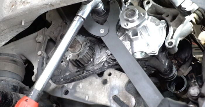 VW GOLF 2.8 VR6 Water Pump + Timing Belt Kit replacement: online guides and video tutorials