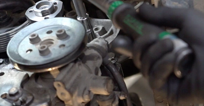 Step-by-step recommendations for DIY replacement Golf 3 1996 1.6 Water Pump + Timing Belt Kit
