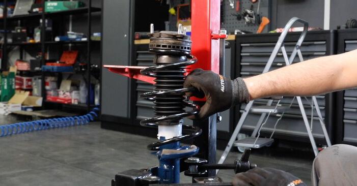 Zweckdienliche Tipps zum Austausch von Stoßdämpfer beim FORD Fiesta Mk5 Schrägheck (JH1, JD1, JH3, JD3) 1.3 2005