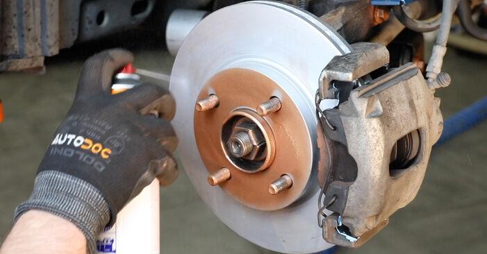 Stoßdämpfer Ihres Ford Fiesta Mk5 1.4 TDCi 2009 selbst Wechsel - Gratis Tutorial