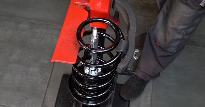Stoßdämpfer Ihres Opel Zafira f75 2.0 DTI 16V (F75) 2000 selbst Wechsel - Gratis Tutorial