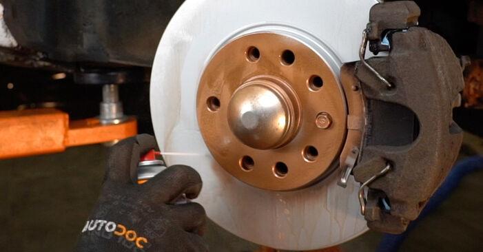 Schritt-für-Schritt-Anleitung zum selbstständigen Wechsel von Opel Zafira f75 2005 2.2 16V (F75) Stoßdämpfer