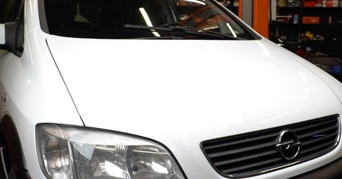 Austauschen Anleitung Stoßdämpfer am Opel Zafira f75 2002 2.0 DTI 16V (F75) selbst