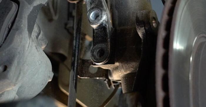 Cómo reemplazar Amortiguadores en un BMW 5 Berlina (E39) 523i 2.5 1996 - manuales paso a paso y guías en video