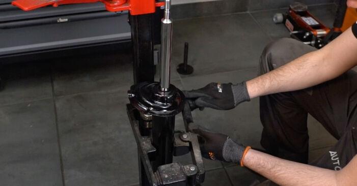 Cómo cambiar Amortiguadores en un BMW E39 1995 - Manuales en PDF y en video gratuitos