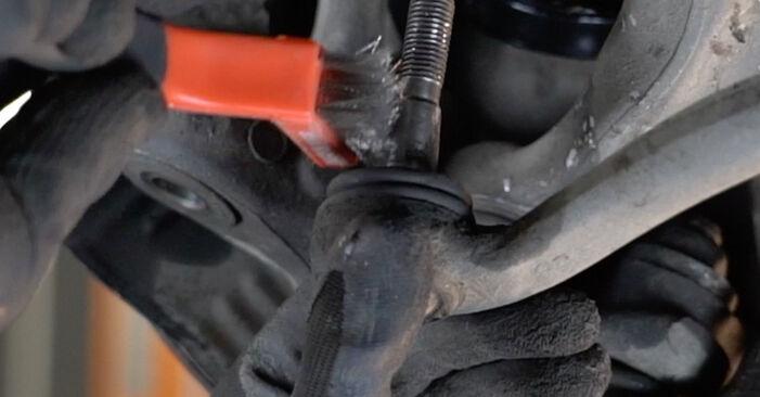 Sustitución de Amortiguadores en un BMW E39 530d 3.0 1997: manuales de taller gratuitos