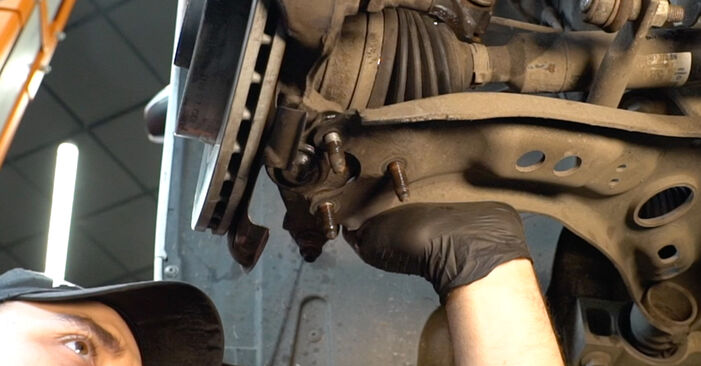 Austauschen Anleitung Stoßdämpfer am Audi A3 8pa 2003 2.0 TDI 16V selbst