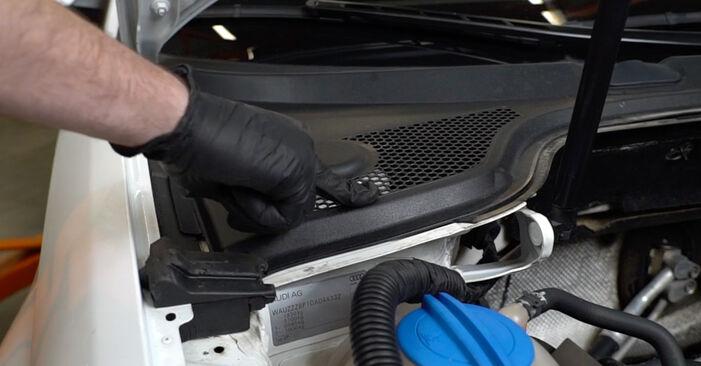 Schritt-für-Schritt-Anleitung zum selbstständigen Wechsel von Audi A3 8pa 2006 1.6 Stoßdämpfer