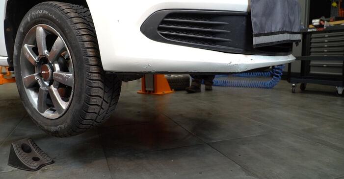 VW POLO 1.4 Stoßdämpfer austauschen: Tutorials und Video-Anweisungen online