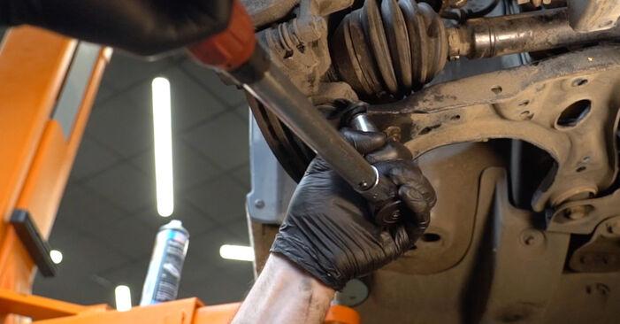 Wechseln Sie Stoßdämpfer beim VW Polo Limousine (602, 604, 612, 614) 1.2 TSI 2012 selbst aus