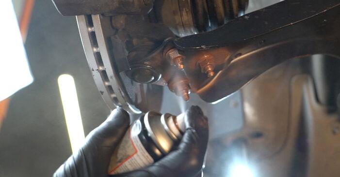 Wie problematisch ist es, selber zu reparieren: Stoßdämpfer beim VW Polo 5 Limousine 1.4 TSi 2015 auswechseln – Downloaden Sie sich bebilderte Tutorials