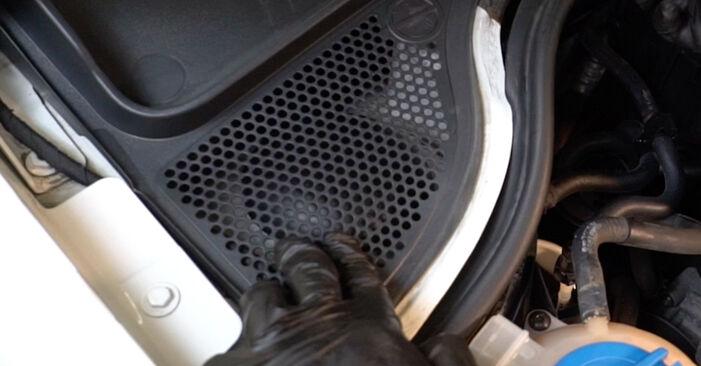 Wie Stoßdämpfer beim VW Polo 5 Limousine 2009 gewechselt werden - Unentgeltliche PDF- und Videoanweisungen