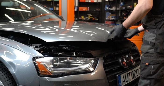 Wymiana Amortyzator Audi A4 B8 Sedan 2007 - darmowe instrukcje PDF i wideo