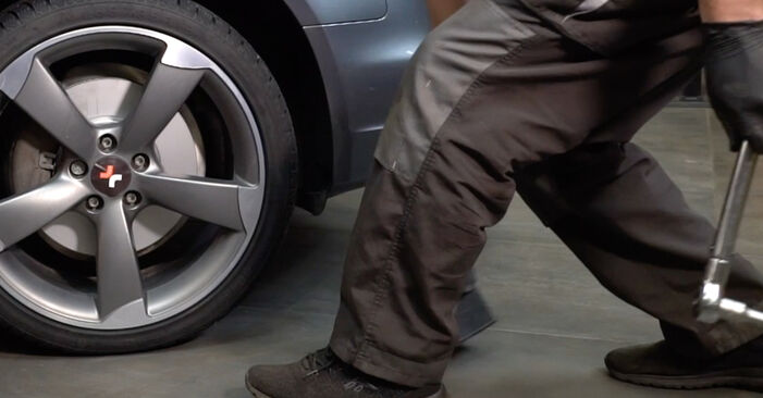 A4 Limousine (8K2, B8) S4 3.0 quattro 2009 1.8 TFSI Stoßdämpfer - Handbuch zum Wechsel und der Reparatur eigenständig