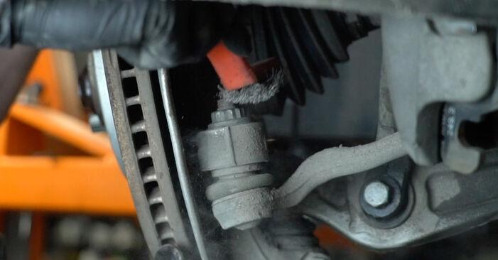 Jak wymienić Amortyzator w AUDI A4 Sedan (8K2, B8) 2012: pobierz instrukcje PDF i instrukcje wideo